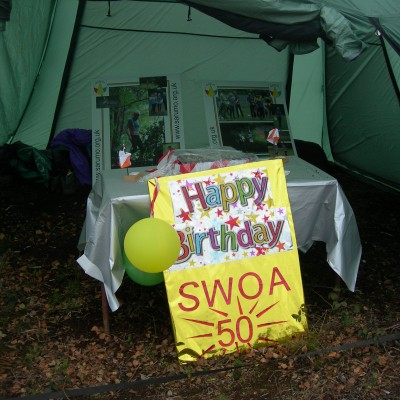 South West Orienteering Association 50th Anniversary celebration