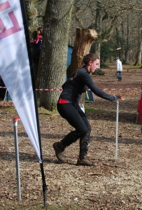 Hazel is first Sarum runner home and gains maximum points