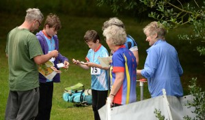 Sarum Orienteering Club Moonraker Relay at Downton Moot on Sun 21st Aug 2016.