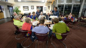 Sarum Orienteering Club Night at the Hub Club, Salisbury on Tue 20th Sept 2016.
