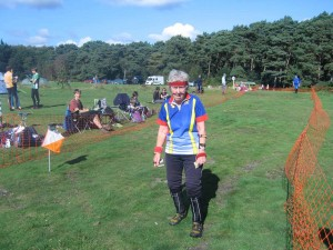 Charlotte finishes day 2 of the Caddihoe and would just love to do that course again!