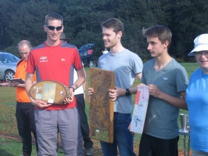 Ben winner of M35 at Caddihoe Chase 2016