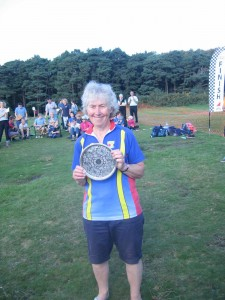 Charlotte wins W70 at the Caddihoe Chase 2016