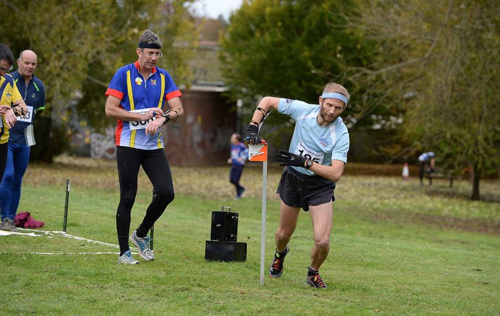 Action from the Sarum Orienteering Club event, the Salisbury Urban held from Five Rivers Leisure Centre, Salisbury on Sat 5th Nov 2016.