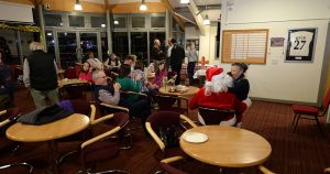 Sarum Orienteering Club Xmas Social Night at The Hub Club, Salisbury on Tue 20th Dec 2016.