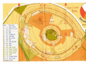 Old Sarum Map